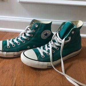 Teal High Top Chuck Taylor All Star Converse